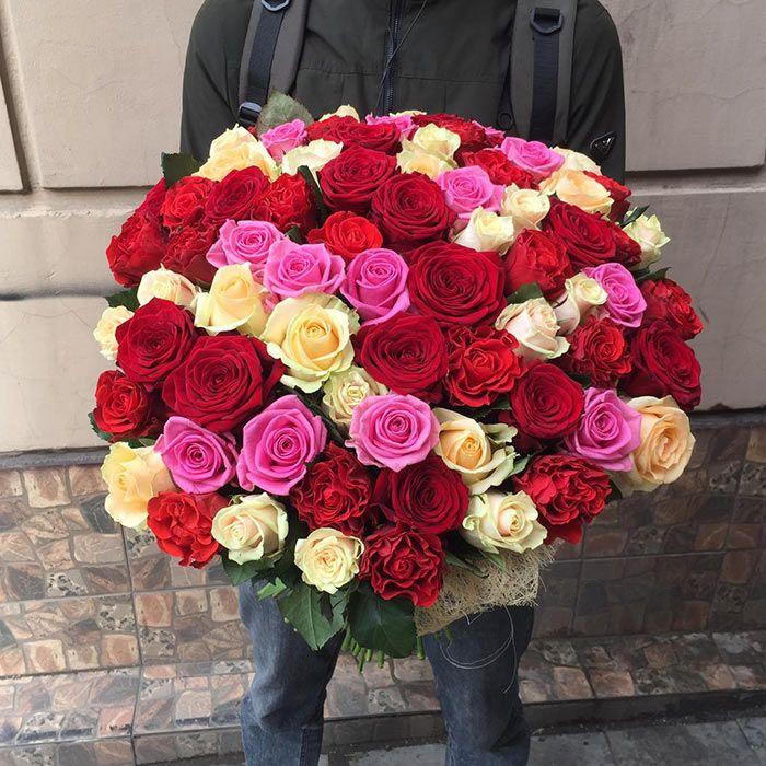 Букет из 75 роз купить